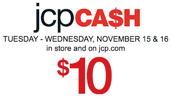 JCPenney: $10 off $25 Purchase Coupon Code