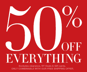 New York and Company Cyber Monday Sale