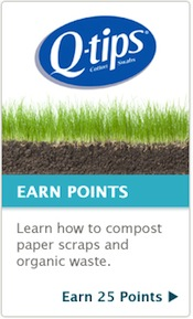 Recyclebank Q Tips Learn and Earn