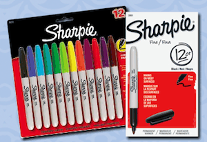 Sharpie Markers FREE MaxPerks Rewards