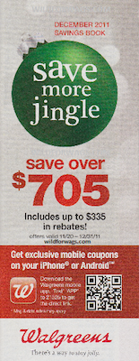 Walgreens December 2011 Coupon Booklet