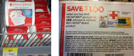 Walmart FREE Johnson Johnson Travel Size Kits