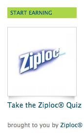Ziploc Quiz Recyclebank