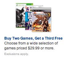 B2G1 Video Games
