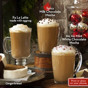 Caribou Coffee Holiday Drinks