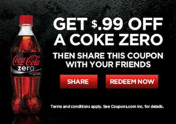 Coke Zero Coupon