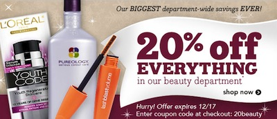 Drugstore Beauty Coupon Code