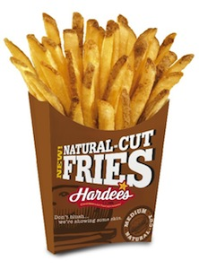 Hardees Natural Cut French Fries