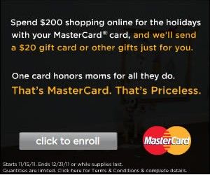 MasterCard Promotion