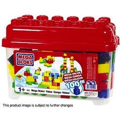 Mega Bloks Value Bucket