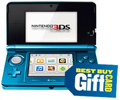 Nintendo 3DS Best Buy Gift Card