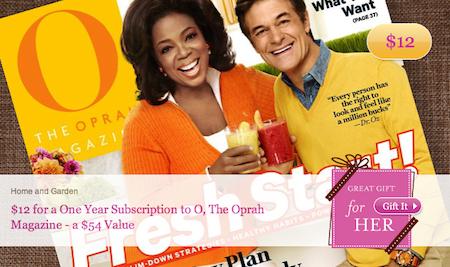 O Magazine Subscription