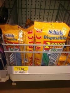Schick Disposable Razors