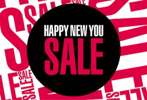 Sunglass Hut Happy New You Sale