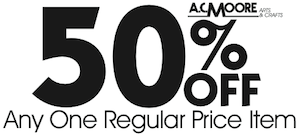 picture about Ac Moore Printable Coupons named Retail Printable Discount codes: 1/6/12