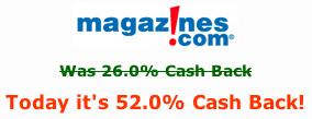 Ebates Magazines Cash Back