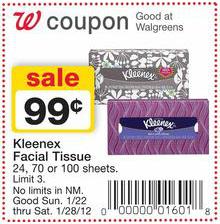 Kleenex Walgreens Coupon
