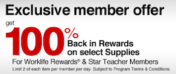 Office Depot Worklife Rewards Freebies