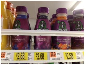 Sambazon Organic Juice