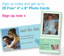 SeeHere: 25 FREE 4×8 Photo Cards