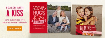 Shutterfly FREE Valentines Day Card