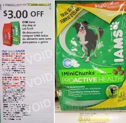 Target FREE Iams Dog Food