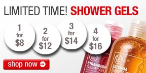 The Body Shop Shower Gel Sale