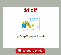 Up Up Paper Towels Coupon