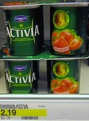 Activia Yogurt Target Deal