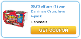 Danimals Crunchers Coupon