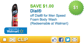 Dial Men Speed Foam Body Wash