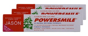 Jason PowerSmile All Natural Whitening Toothpaste Bundle