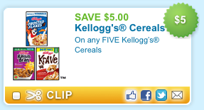 Kelloggs Cereal Printable Coupon