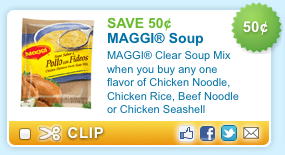 Maggi Soup Printable Coupon