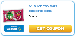 Mars Seasonal Items Coupon