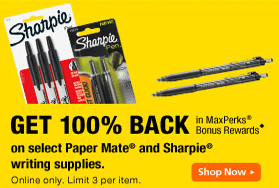 OfficeMax FREE Sharpies