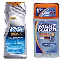Right Guard Total Defense 5