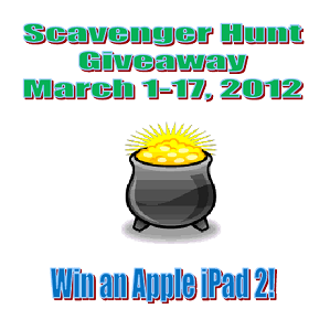 Scavenger Hunt Button