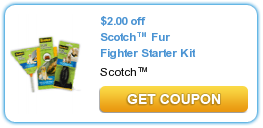 Scotch Fur Fighter Starter Kit Coupon