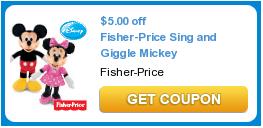 Sing Giggle Mickey Coupon