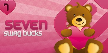 Swagbucks Valentines Bills
