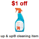 Up Up Cleaning Item Coupon