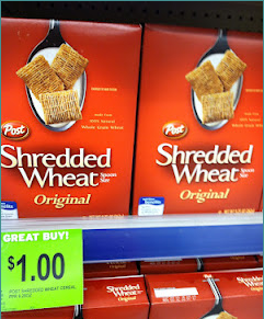 Walgreens Shredded Wheat Cereal