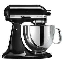 Black KitchenAid Mixer
