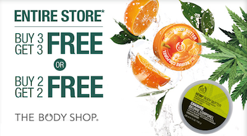 Body Shop B3G3 Sale