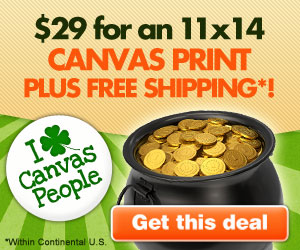 Canvas People St Patricks Day Offer