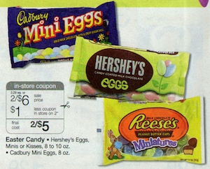 Hersheys Easter Candy Walgreens Deal
