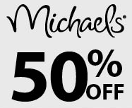 Michaels Coupons: 50% off One Item + 20% off Entire Purchase
