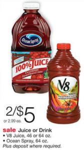 Ocean Spray Walgreens Sale
