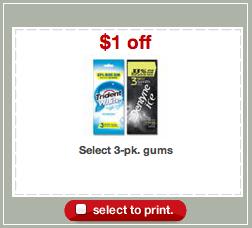 Target Dentyne Gum Deal Coupon
